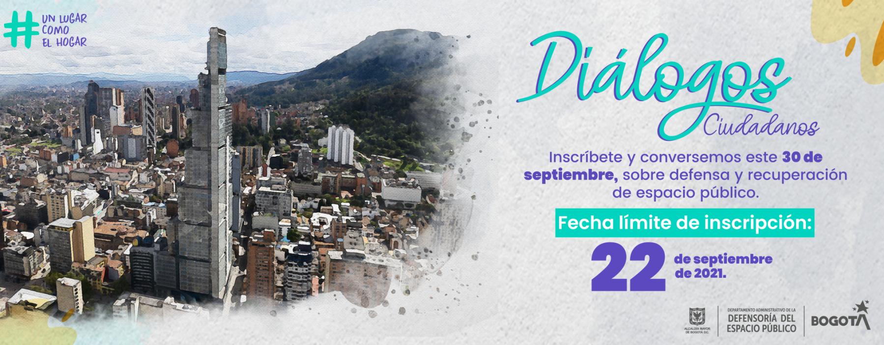 Inscríbete: Diálogos Ciudadanos
